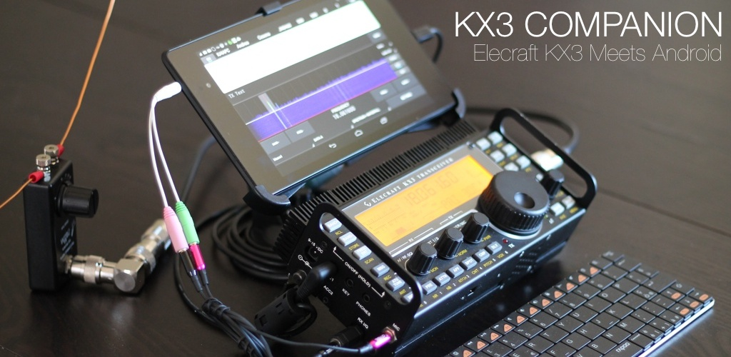 Kx3 Companion Elecraft Kx3 Meets Android