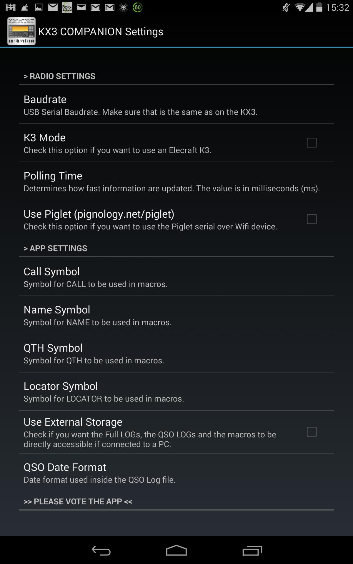 KX3 Companion – ELECRAFT KX3 MEETS ANDROID